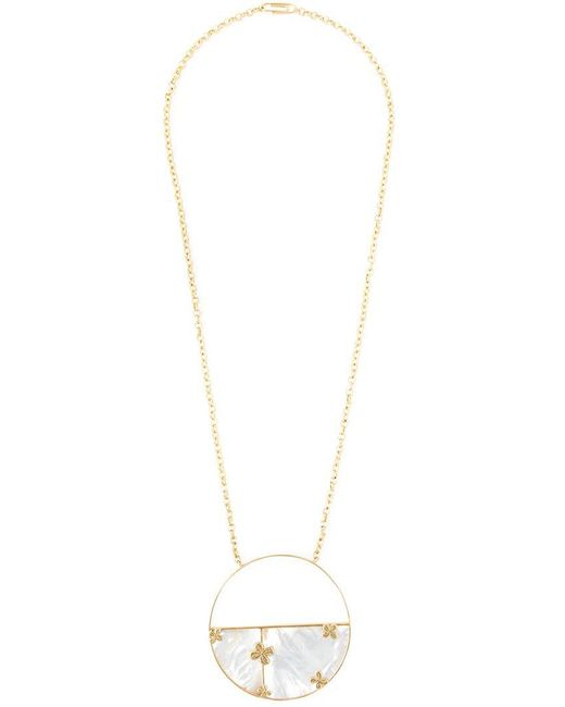 Aurelie Bidermann - Metallic 'bianca' Reversible Mirror Necklace - Lyst