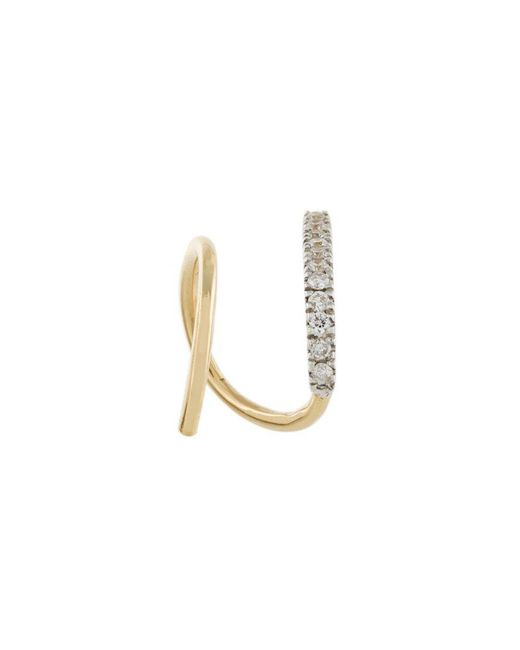 Maria Black - Metallic 'bela Blanc' Twirl Diamond Earring - Lyst