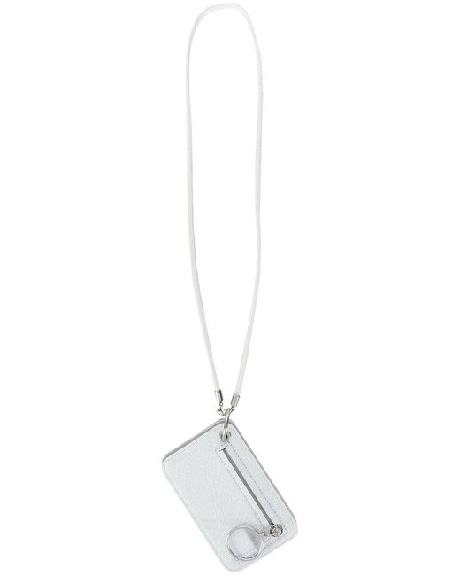 MM6 by Maison Martin Margiela - White Coin Wallet - Lyst