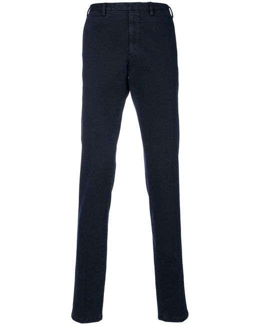 Dell'Oglio - Blue Classic Chinos for Men - Lyst