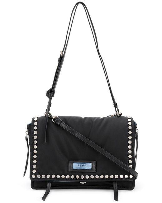 Prada - Black Etiquette Shoulder Bag - Lyst