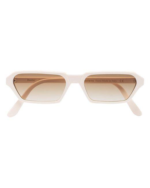 Illesteva - Multicolor Ivory Baxter Rectangular Acetate Sunglasses - Lyst