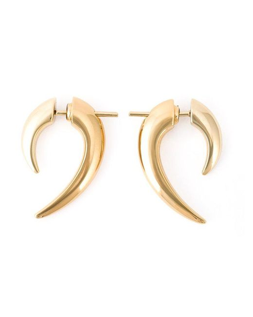 Shaun Leane - Metallic 'signature Tusk' Earrings - Lyst