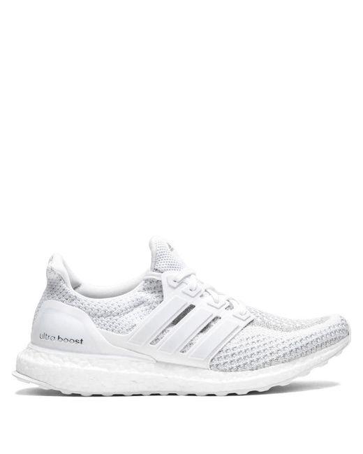 more photos 8e4c4 ced89 Men's White Ultraboost Ltd Sneakers