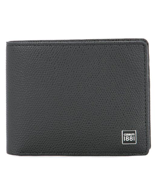 Cerruti 1881 - Black Billfold Wallet for Men - Lyst
