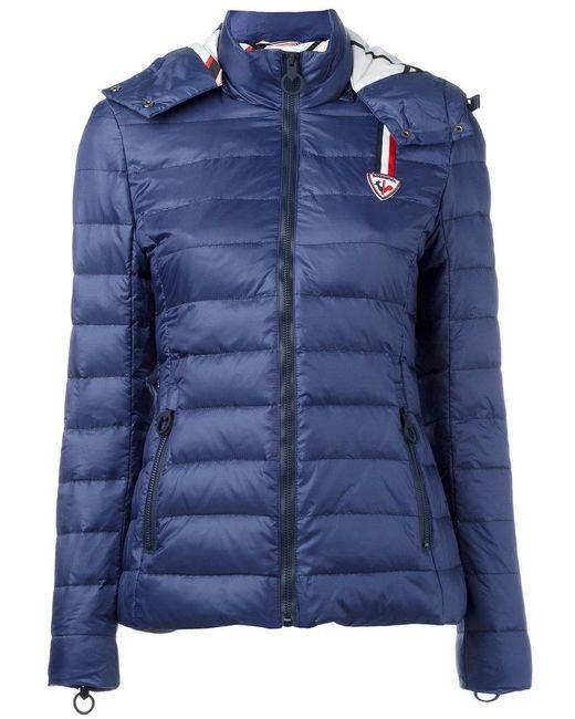 Rossignol | Blue W Caroline Quilted Jacket | Lyst