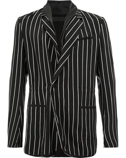 Haider Ackermann - Black Pinstripe Blazer for Men - Lyst