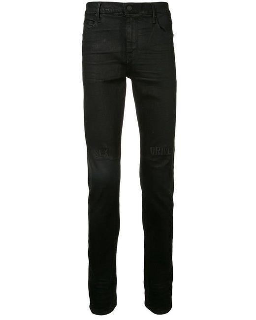 RTA - Black Sex Drive Slim Fit Jeans for Men - Lyst