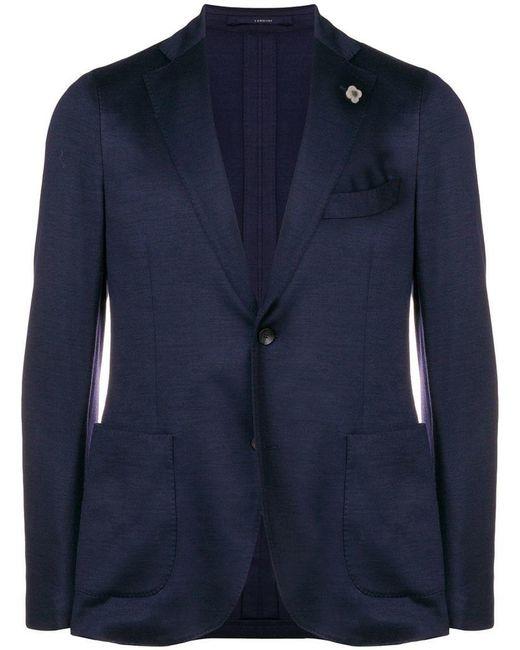 Lardini - Blue Smart Blazer for Men - Lyst