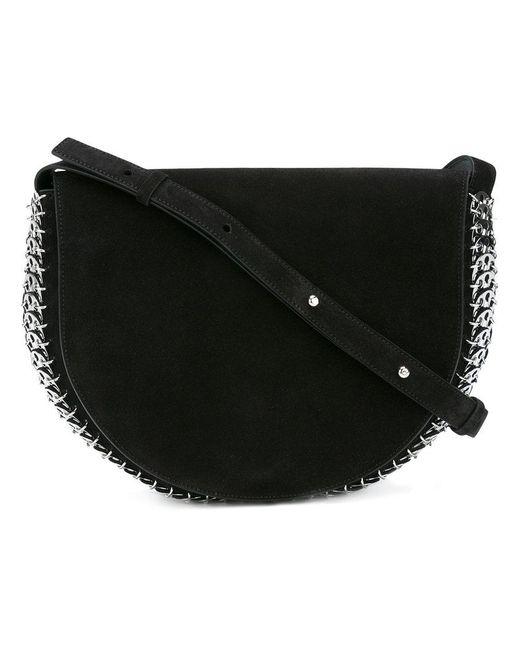 Paco Rabanne - Black Trim Detail Shoulder Bag - Lyst