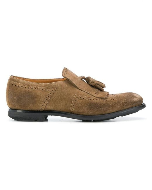 Church's - Brown Classic Tassel Loafers for Men - Lyst
