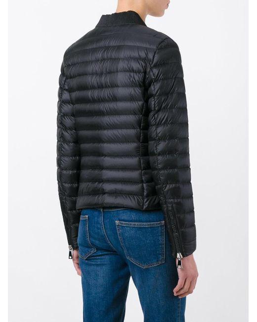 ... Moncler - Black Blen Padded Jacket - Lyst ...