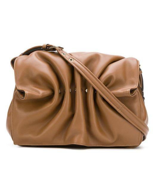 Valentino - Brown Garavani Rockstud Crossbody Bag - Lyst