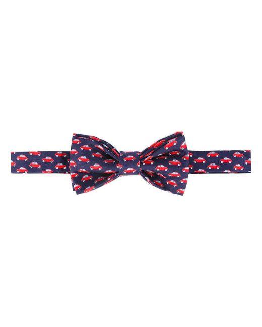Fefe   Blue Car Print Bow Tie for Men   Lyst