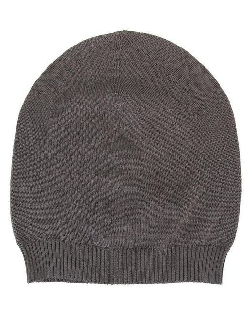 3f2659e2e3ace Rick owens Knit Beanie in Gray for Men