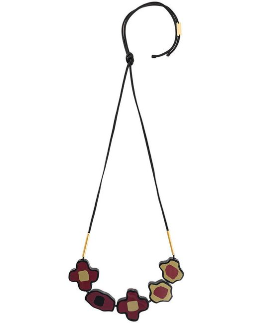 Marni | Red Collana Floreale | Lyst