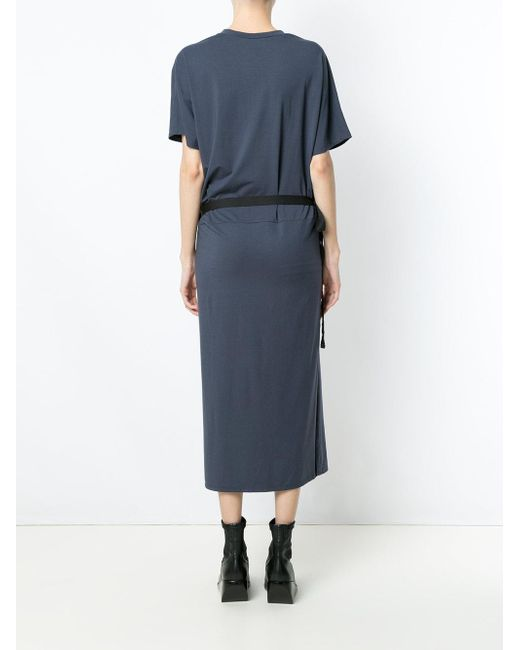 Mooca longsleeved dress - Blue Uma 0rekn