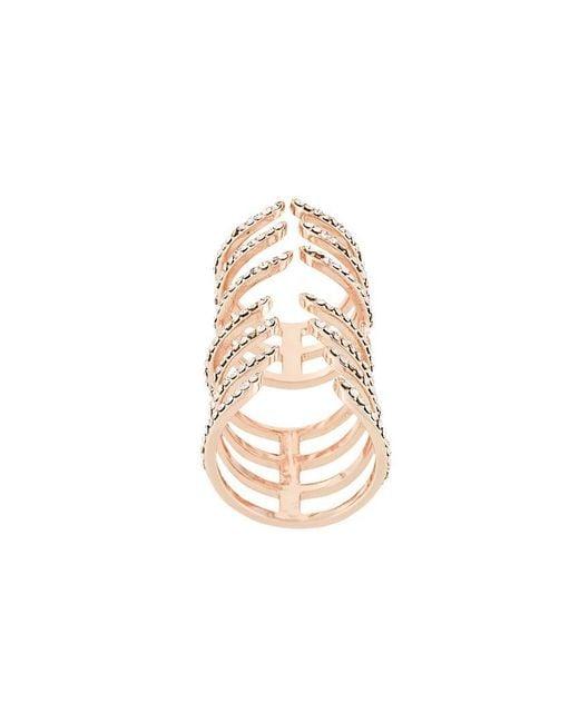 FEDERICA TOSI - Metallic 'hook' Ring - Lyst