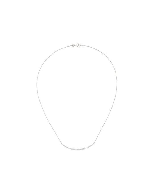 Wouters & Hendrix - White Diamond Pavé Necklace - Lyst