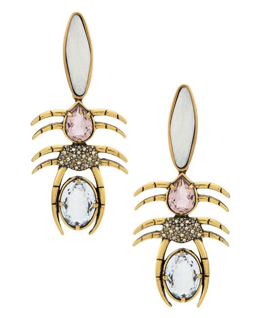 Camila Klein - Metallic Millipede Earrings - Lyst