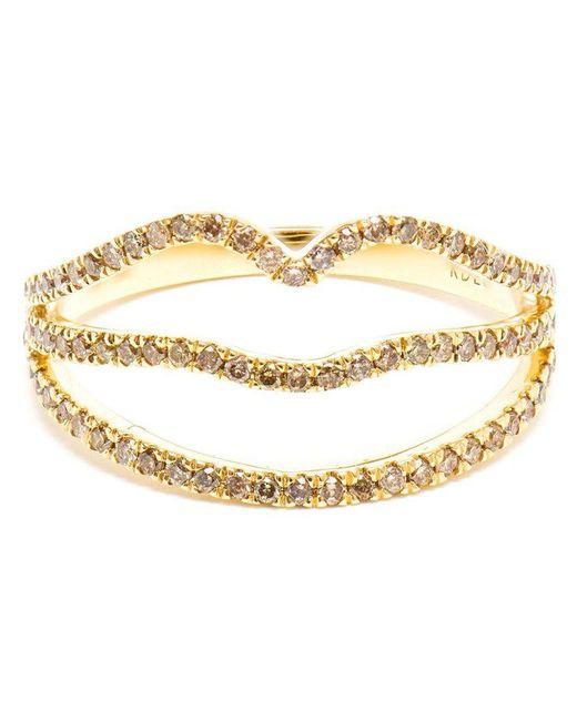 Rosa De La Cruz | Yellow Diamond Lip Shaped Ring | Lyst