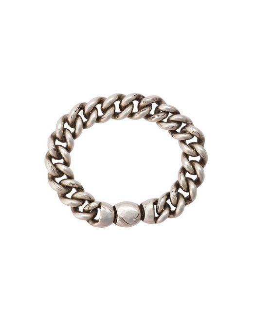Werkstatt:münchen - Metallic Chunky Chain Bracelet - Lyst