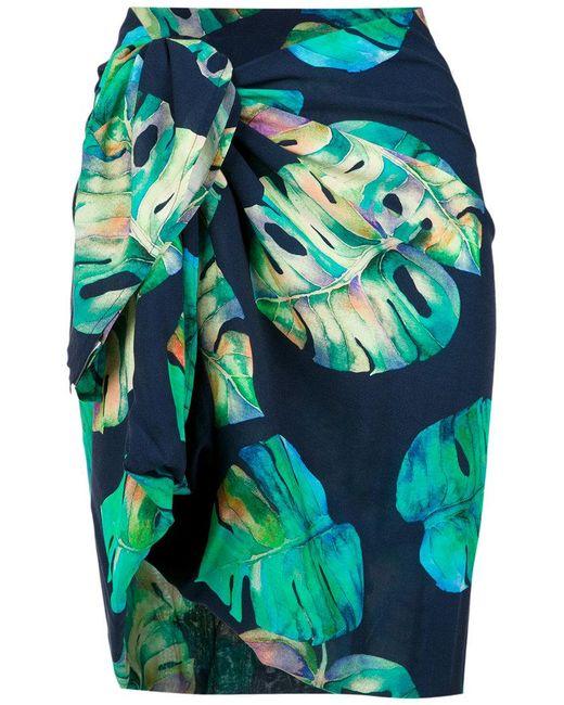 Brigitte Bardot - Black Printed Skirt - Lyst