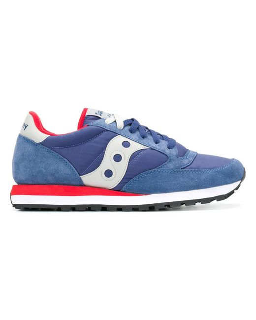 Saucony - Blue Lace-up Sneakers for Men - Lyst