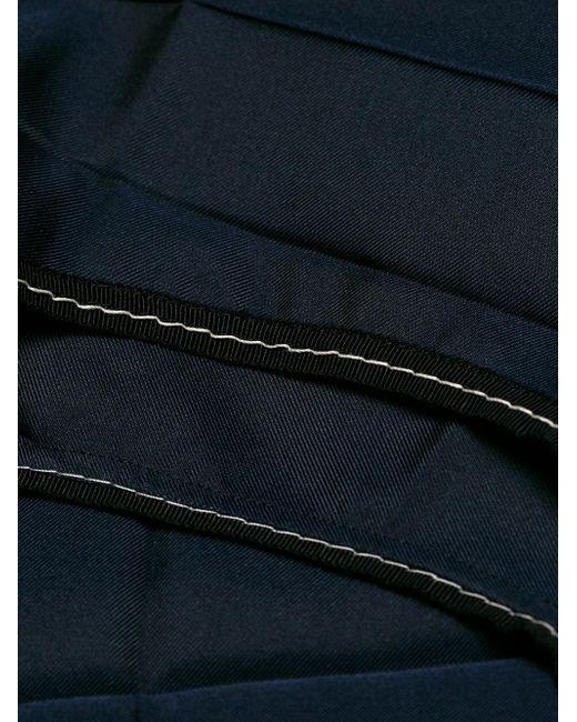 Marni paneles vestido azul Lyst rectángulo con fAwfqSr
