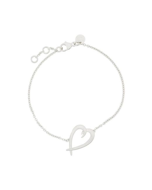 Shaun Leane - Metallic Signature Tusk Heart Bracelet - Lyst