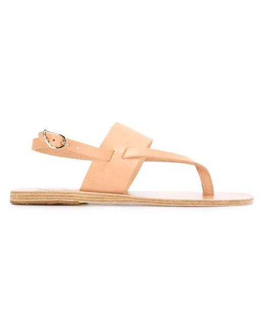 Ancient Greek Sandals - Pink 'zoe' Sandals - Lyst
