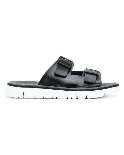 7508bb74b738 Camper - Black Oruga Sandals for Men - Lyst ...