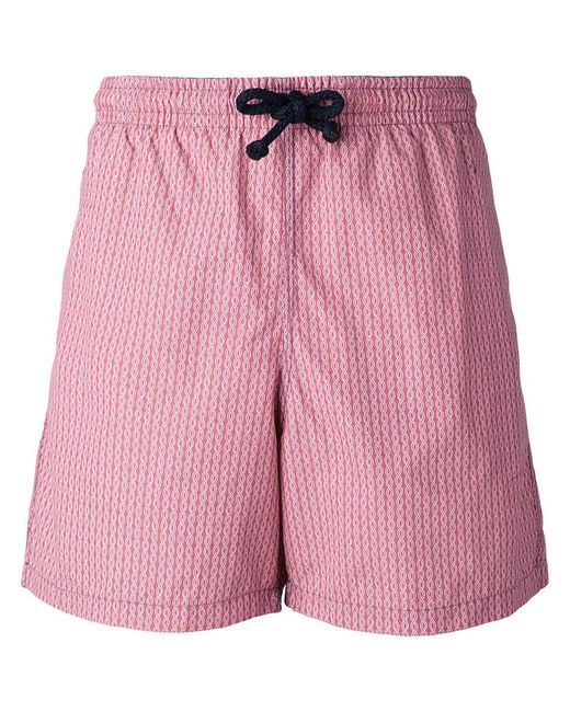 de581e579 Fashion Clinic Timeless - Red Chain Print Swim Shorts for Men - Lyst ...