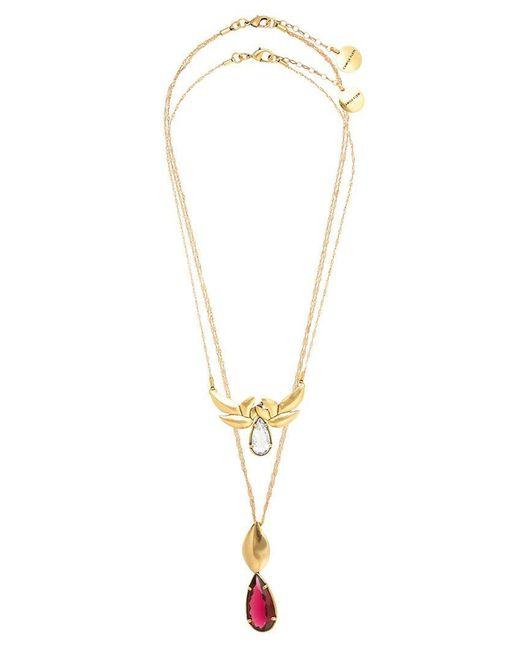 Camila Klein - Metallic Set Of 2 Necklace - Lyst