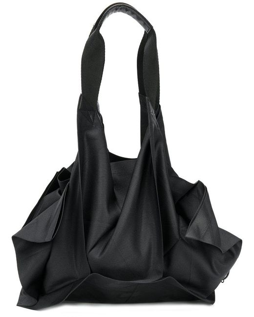 132 5. Issey Miyake | Black Structured Shoulder Bag | Lyst