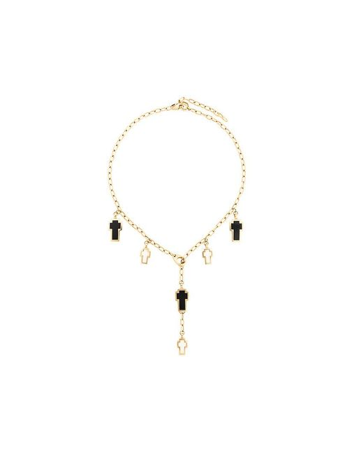 Gavello | Metallic Cross Charm Necklace | Lyst