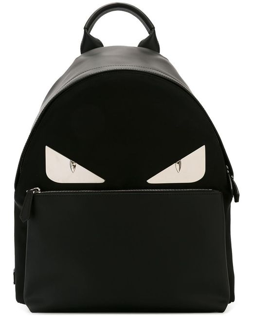 Fendi | Black Bag Bugs Backpack for Men | Lyst