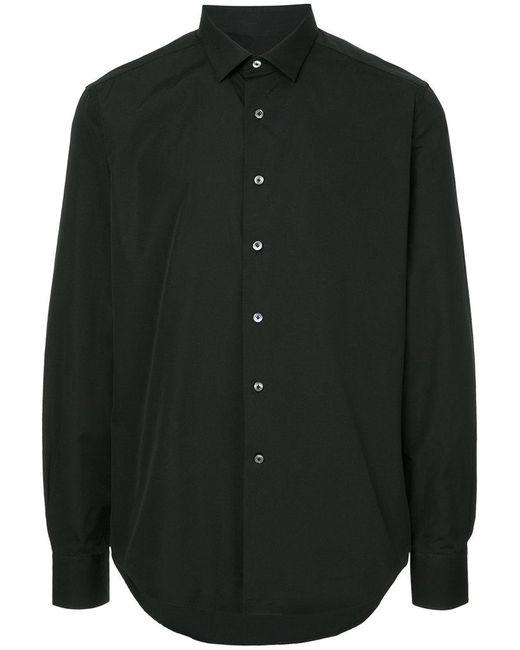 Lanvin - Black Slim-fit Shirt for Men - Lyst