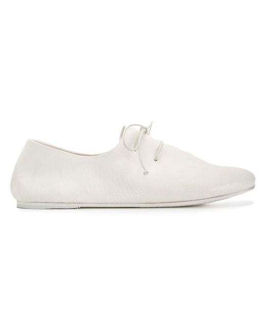Marsèll - White Lace-up Sneakers - Lyst