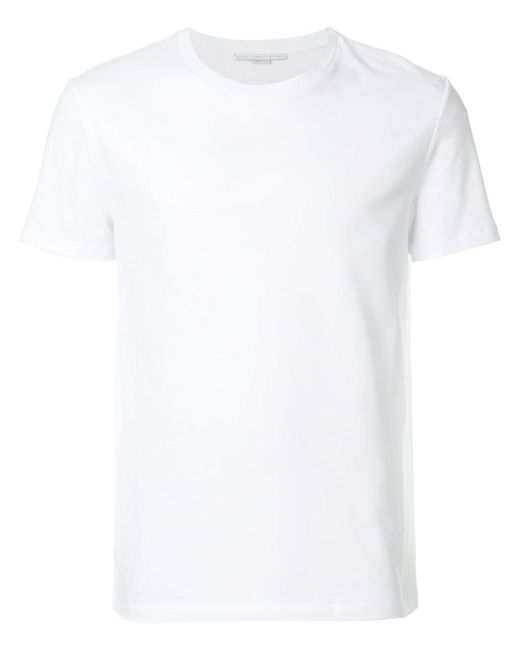 Stella McCartney - White Printed Logo T-shirt for Men - Lyst