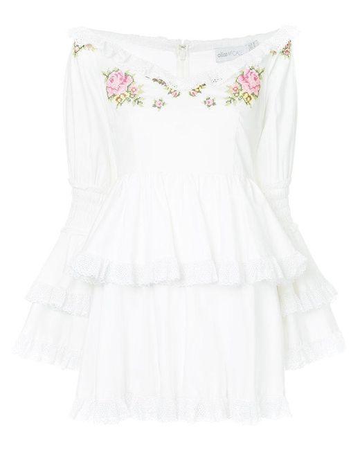 Alice McCALL - White Valli Dress - Lyst