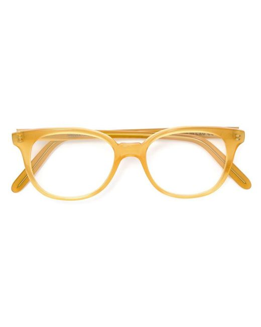 Cutler & Gross | Yellow Round Frame Glasses | Lyst