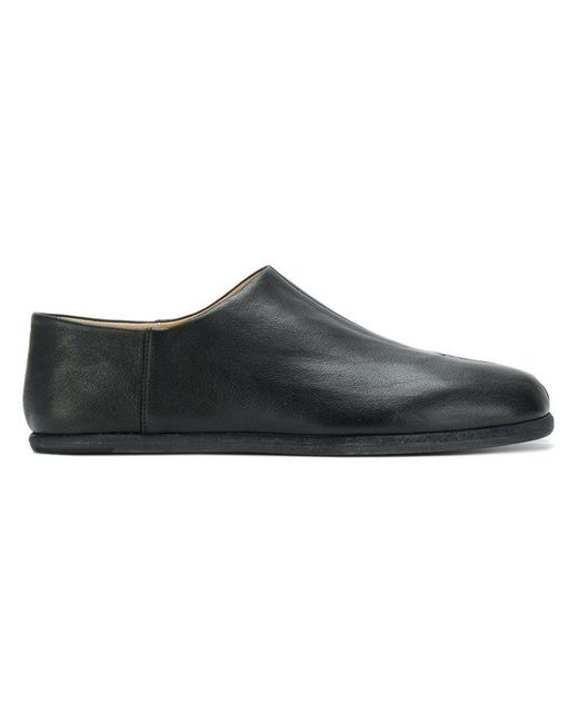 Maison Margiela - Black Mocassins à bout tabi for Men - Lyst