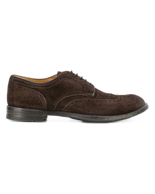 Officine Creative - Brown Anatomia Derby Shoes for Men - Lyst