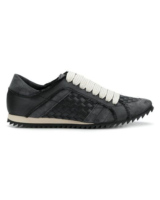 Pedro Garcia - Black Lace-up Sneakers - Lyst
