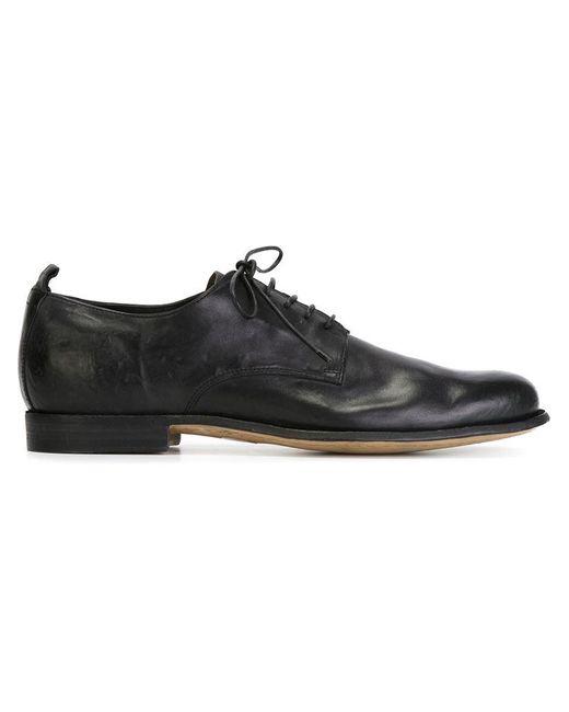 Officine Creative - Black 'princeton' Derby Shoes for Men - Lyst