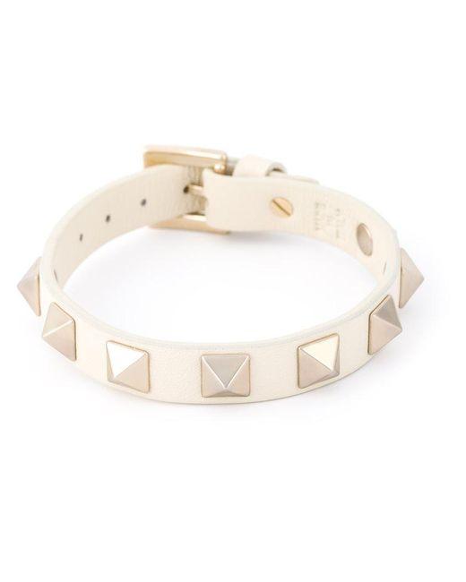 Valentino | Natural 'rockstud' Bracelet | Lyst