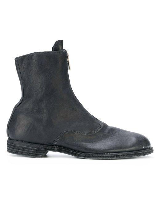 Guidi zip front ankle boots - Black farfetch neri Venta Barata De Bajo Costo Aclaramiento De Obtener Auténtica Caliente Populares Barato Xxp3L