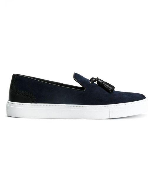 Dolce & Gabbana - Blue Tassel Sneakers for Men - Lyst
