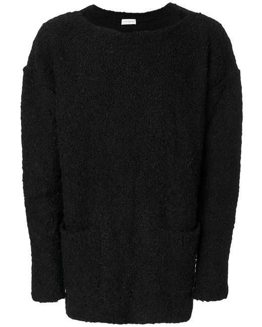 Faith Connexion - Black Scoop Neck Sweater - Lyst